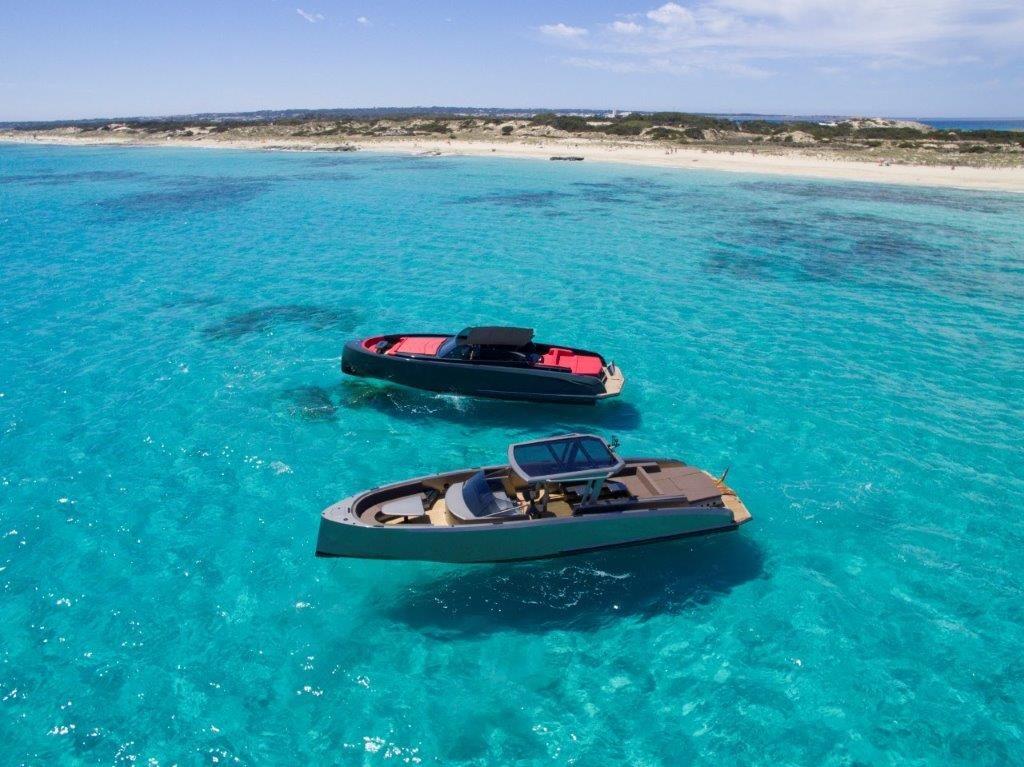 Boats in Ibiza